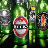 BECK'S BEER LABELS