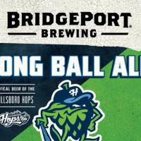 bridgeport long ball ale label