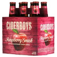 ciderboys raspberry smash 6pk bottle