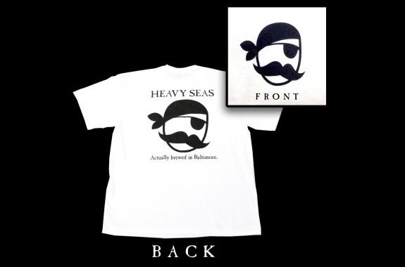 heavy seas beer pyrate shirt