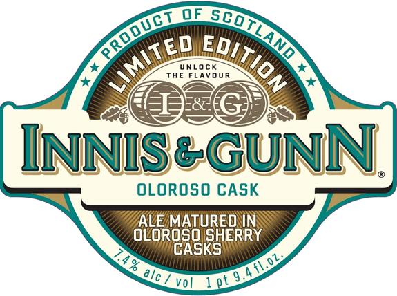 Innis and Gunn Oloroso Sherry Cask Ale