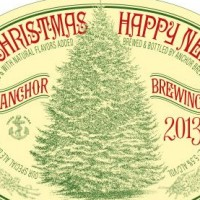 anchor our special ale (christmas) 2013