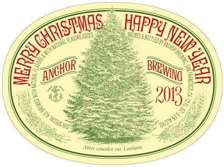 Anchor Steam Christmas Ale.Anchor Christmas Ale Returns For 39th Year Beerpulse