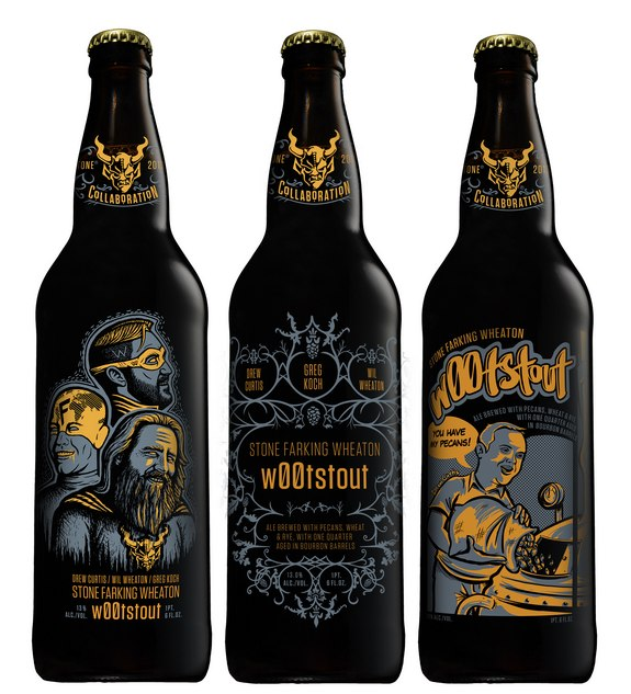 Stone Brewing S W00tstout Will Feature Three Different