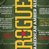 Rogue American Amber Ale label