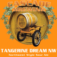 Cascade Tangerine Dream NW Rum Barrel-Aged Sour Ale