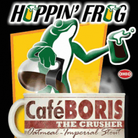 Hoppin' Frog Café BORIS The Crusher Oatmeal Imperial Stout