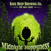 Knee Deep Midnight Hoppyness Hop Rows