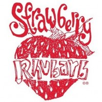 New Glarus Strawberry Rhubarb label