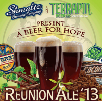 Reunion Ale 13 label