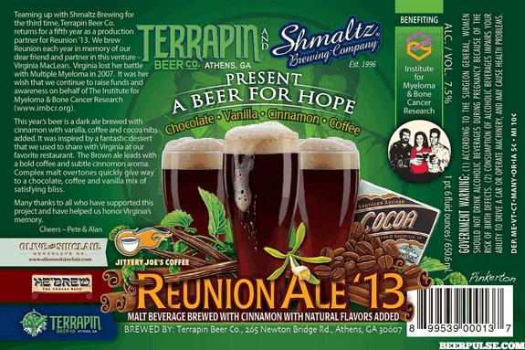 Reunion Ale '13