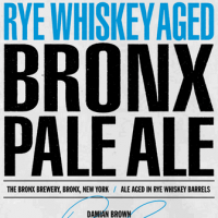 Rye Whiskey Aged Bronx Pale Ale