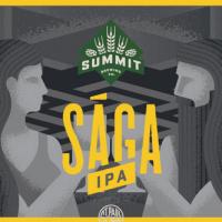 Summit SAGA IPA can label