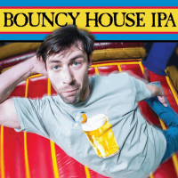 Smuttynose Bouncy House IPA label