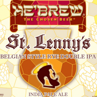 He'Brew St. Lenny's Belgian Rye Double IPA