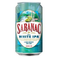 Saranac White IPA can 200