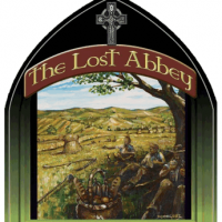 The Lost Abbey Saison Blanc label