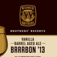 Widmer Brothers Vanilla Brrrbon '13 Bourbon Barrel Aged Ale