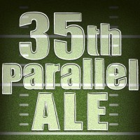 35th Parallel Ale label