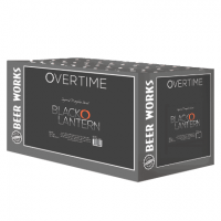 Beer Works Overtime Black O Lantern 12-pack
