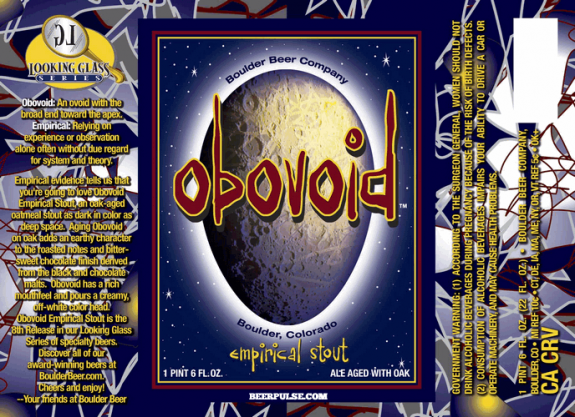 Boulder Obovoid label