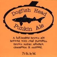 Dogfish Head Punkin Ale label