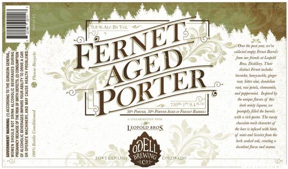 Odell Fernet Aged Porter