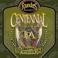 Founders Centennial IPA Can Label
