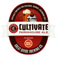 Great Divide Cultivate Farmhouse Ale label