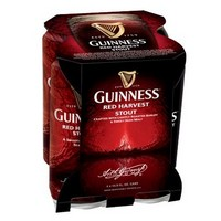 Guinness Red Harvest Stout 4PK 440ML CAN 200
