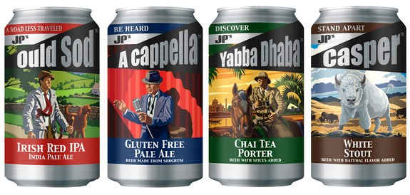 JPs Craft Beer 4 cans