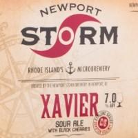 Newport Storm Xavier Sour Ale label