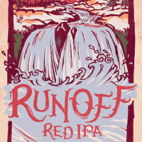 Odell Runoff Red IPA label