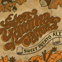 Indeed Sweet Yamma Jamma Sweet Potato Ale label