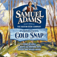 Samuel Adams Cold Snap White Ale label