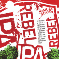 Samuel Adams Rebel IPA 16 oz can
