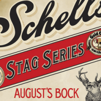 Schell's August's Bock Stag Series label