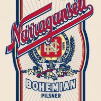 narragansett bohemian pilsner label