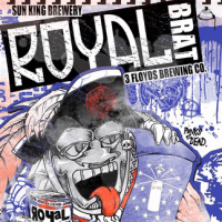 sun king royal brat label