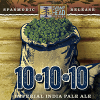 Swamp Head 10-10-10 Imperial IPA label