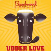 Beachwood Udder Love Milk Stout label