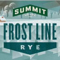 Summit Frost Line Rye label