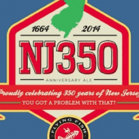 Flying Fish NJ350 Anniversary Ale label 2
