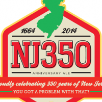 Flying Fish NJ350 Anniversary Ale label