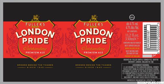 Fuller's London Pride   BeerPulse
