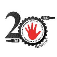 Left Hand Brewing 20th Anniversary logo