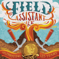 Left Hand Field Assistant Amber Ale label
