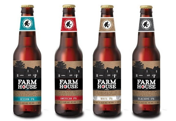 Long Trail Farmhouse Ales bottle set