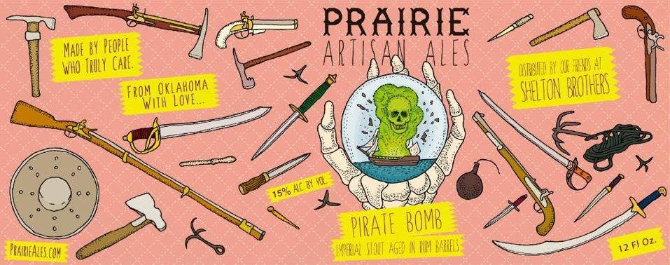 Prairie Pirate Bomb Rum Barrel Aged Imperial Stout | BeerPulse