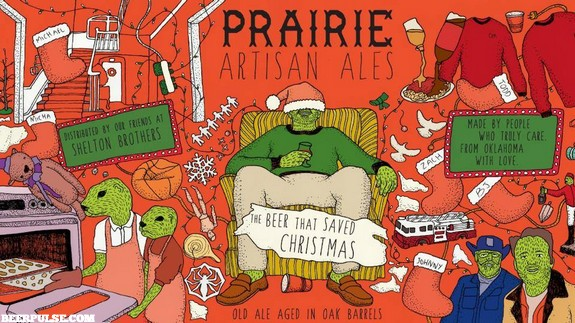 Prairie The Beer That Saved Christmas Oak Aged Old Ale | BeerPulse